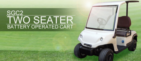 SGC-2 Two Seater Electric Golf Cart