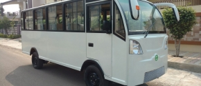 Enclosed Electric Minibus