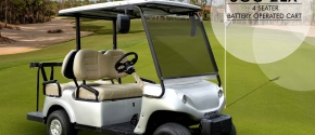 SGC-2ex Four Seater Electric Golf Cart