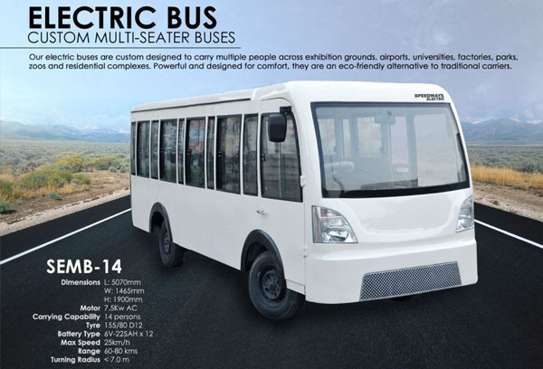 Beautiful Electric Minibus and Electric Bus - Custom Designed