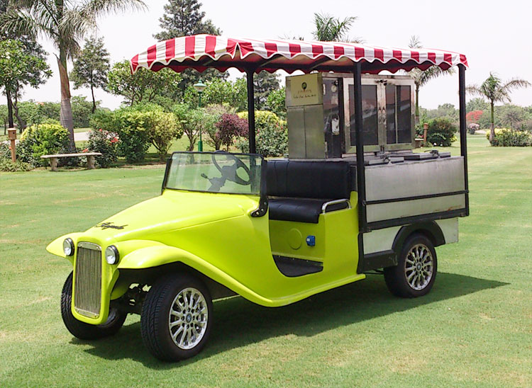 Beautiful Electric Food Cart For Outdoor Catering Custom