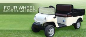 SET-4 Four Wheel Electric Cargo Loader