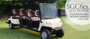 SGC-6ex Eight Seater Electric Golf Cart