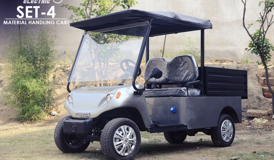 Set4 Electric Multi Utility Vehicle Custom Buggy With Loader