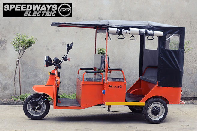 New Model Musafir electric rickshaw launched in India