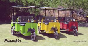 Premium electric rickshaws - Musafir by Speedways Electric