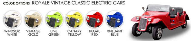 Choose your color with the Royale luxury range!