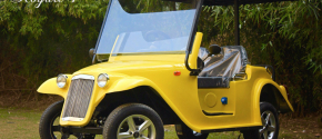 Royale 4 - Vintage Four Seater Golf Cart