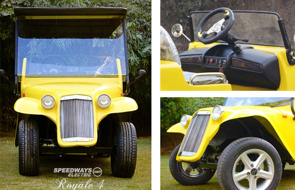 More pictures of the vintage golf cart