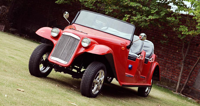 Red Electric Car - Classic Electric Car  for Sale
